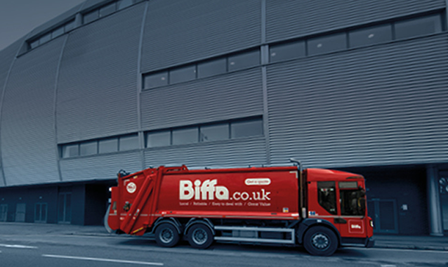 Biffa Truck on the Road