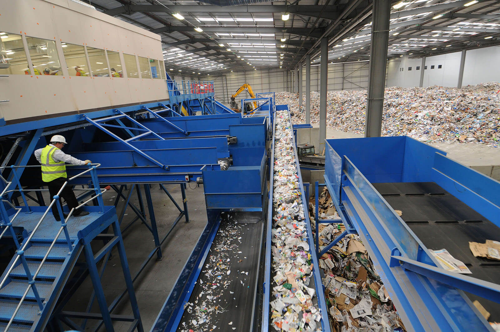 Waste sorting process