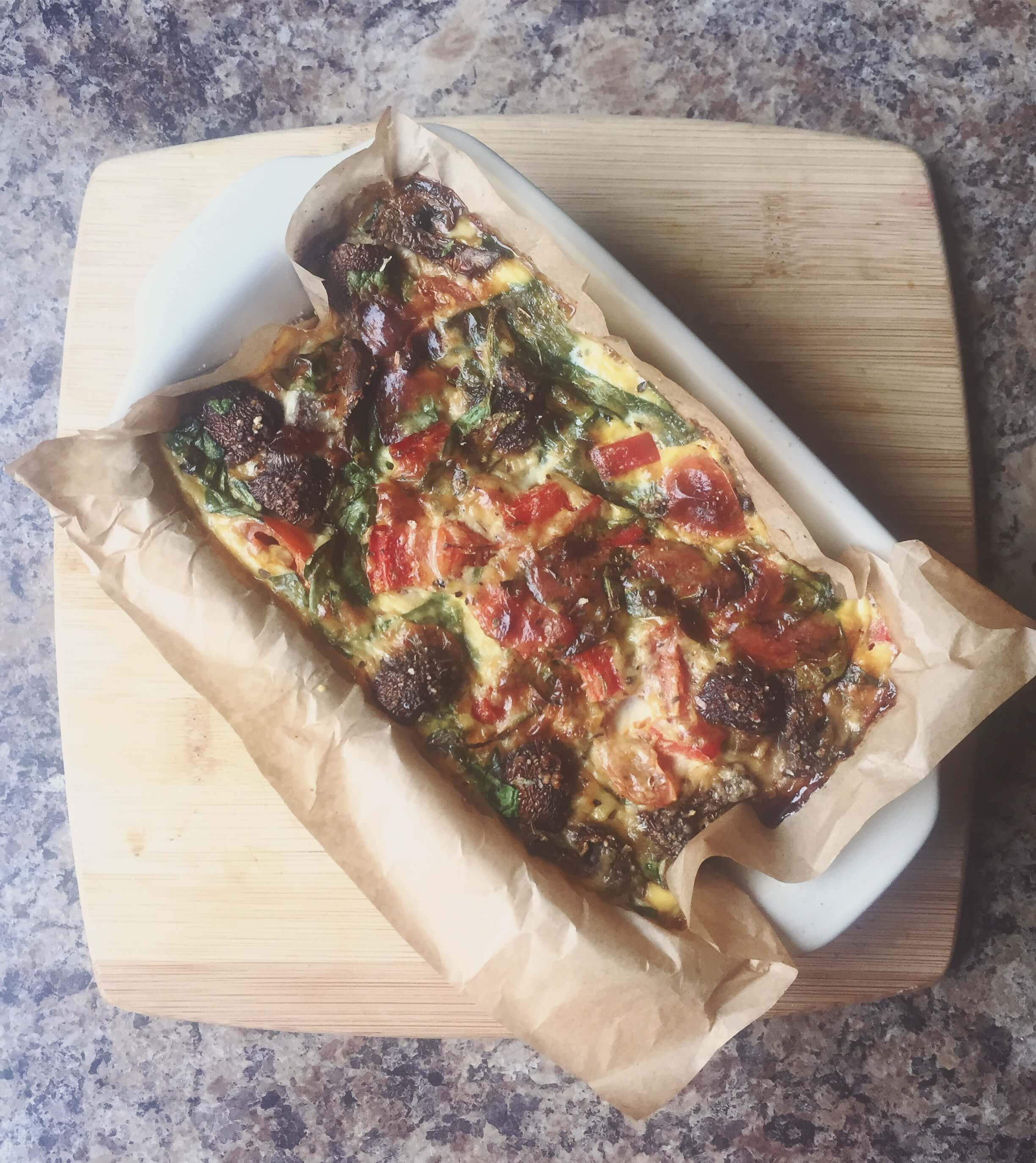 Leftover Recipe Frittata