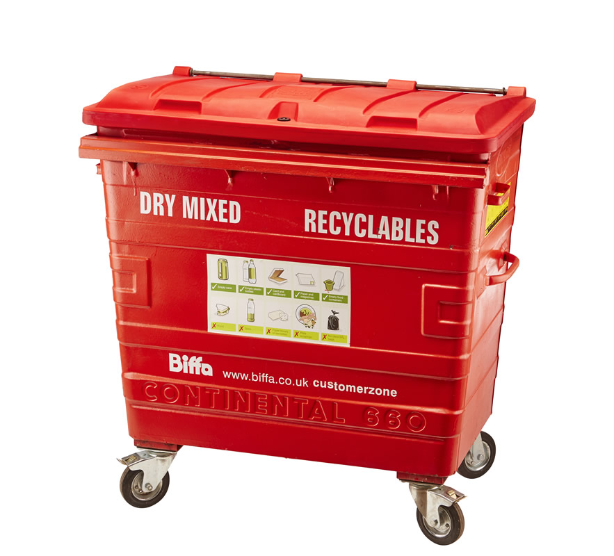 Dry Mixed Recyclables