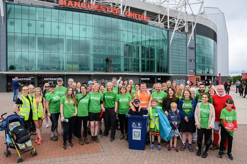 Walk for WasteAid Manchester